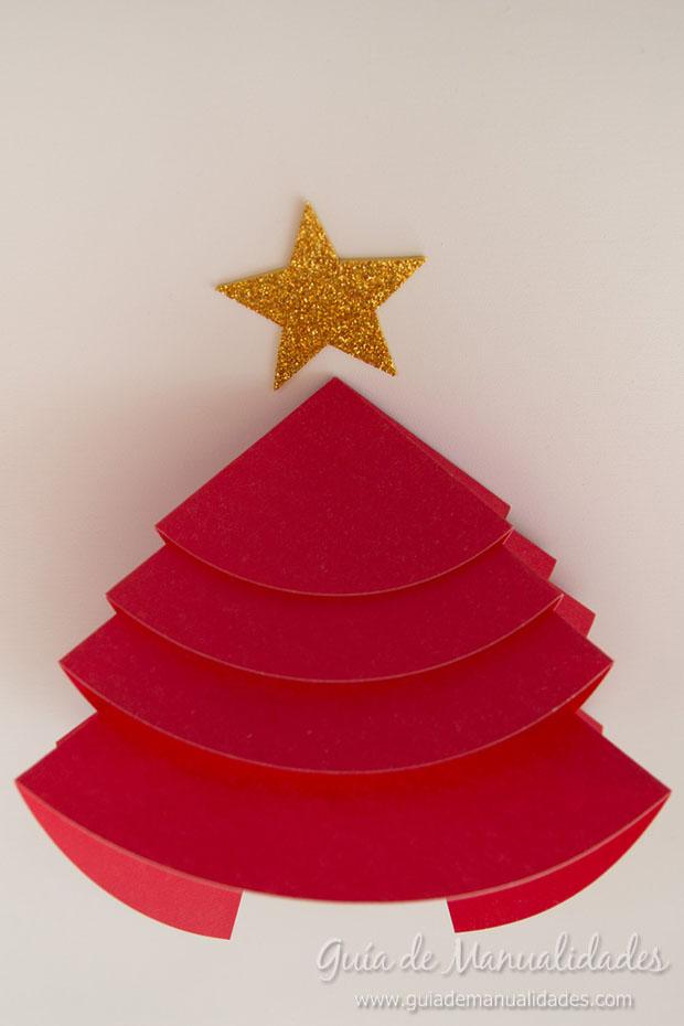 Adorno navideño papel 10