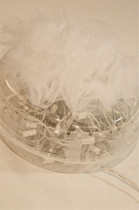Lámpara de tul 6