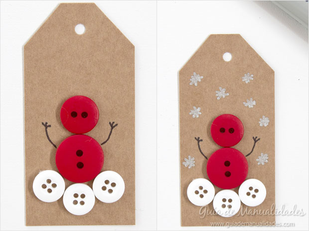 Etiquetas navideñas 6