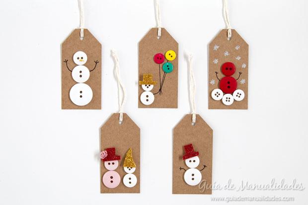 Etiquetas navideñas 8