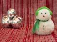 imagen Muñeco de nieve con lana