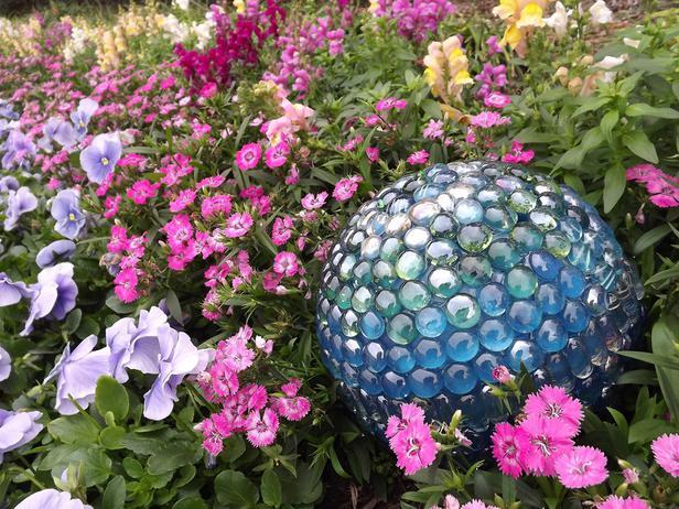 Esferas para el jardín