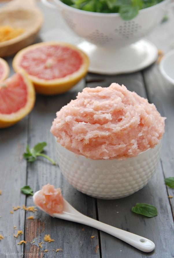 Exfoliante pomelo y menta