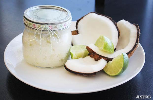 Exfoliante coco y lima