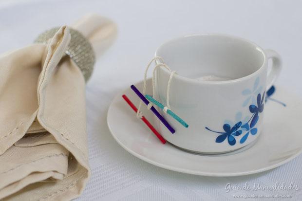 Bolsitas té decoradas