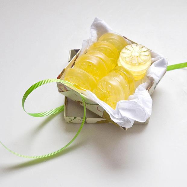 Jabones limón DIY