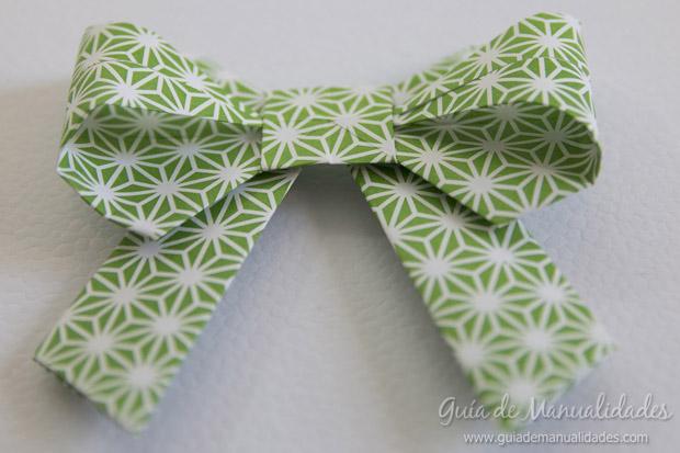 Moño de origami