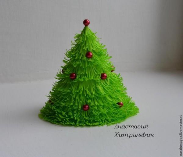 Manualidad navideña goma eva 1
