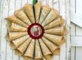 imagen Corona de Navidad de estilo vintage