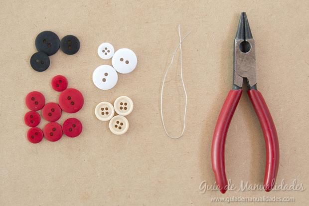 Idea navidad con botones 10