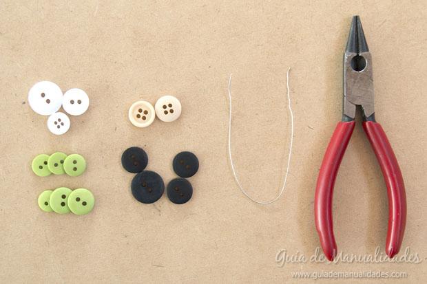Idea navidad con botones 13