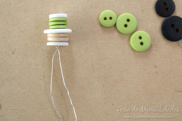 Idea navidad con botones 14