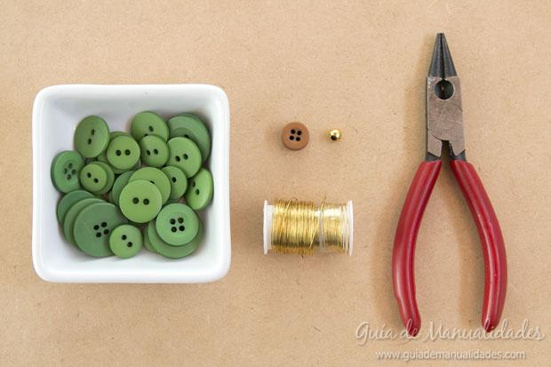Idea navidad con botones 2