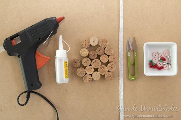 Adornos DIY con corchos 2