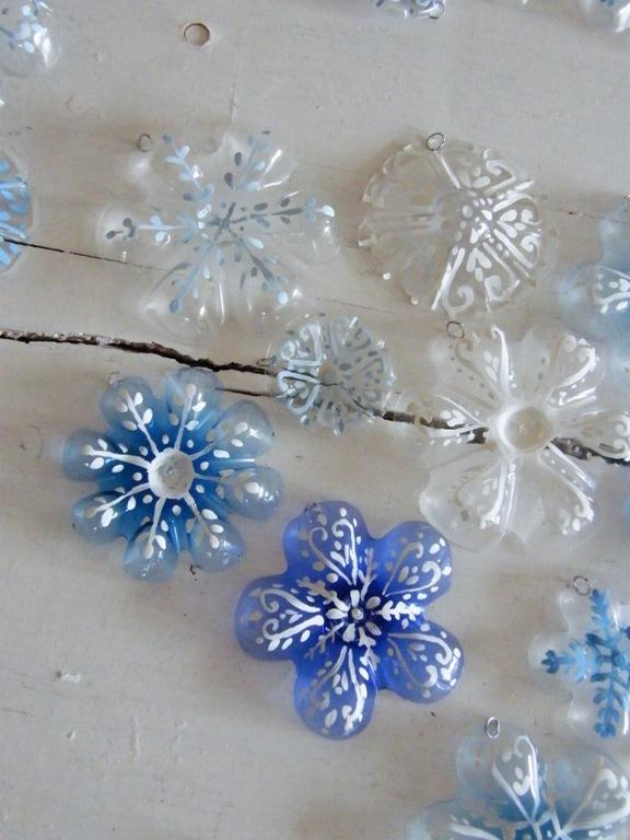 Ornamentos navidad con botellas 1