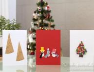 imagen Tarjetas navideñas creativas de última hora