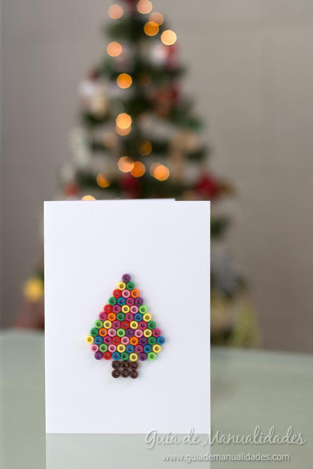 Tarjetas navide as creativas de ltima hora gu a de - Como realizar tarjetas navidenas ...