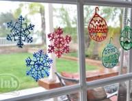 imagen Un toque navideño para tus ventanas