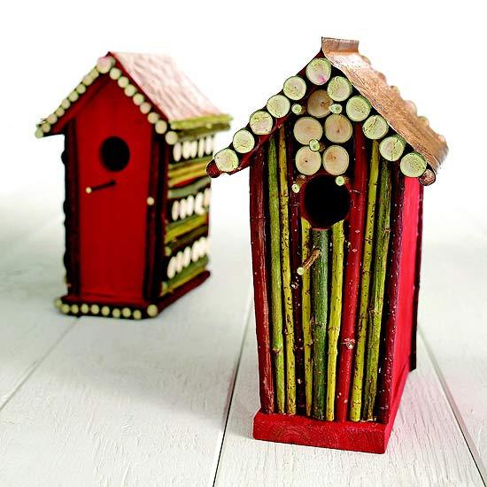 Customizar una casita para aves 1