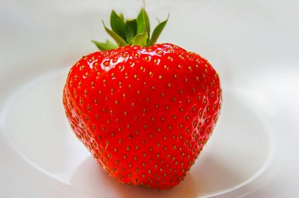 Mascarilla casero de fresa y miel 1