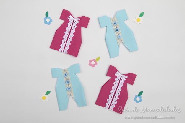 Servilletas ropa bebé 1
