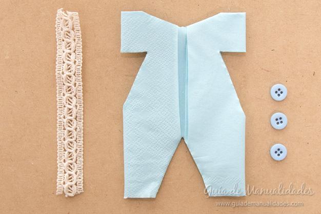 Servilletas ropa bebé 12