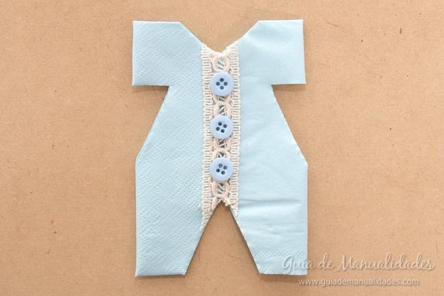 Servilletas ropa bebé 13