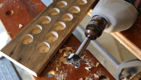 Soporte magn tico para cuchillos de estilo r stico gu a - Como hacer soporte para cuchillos ...