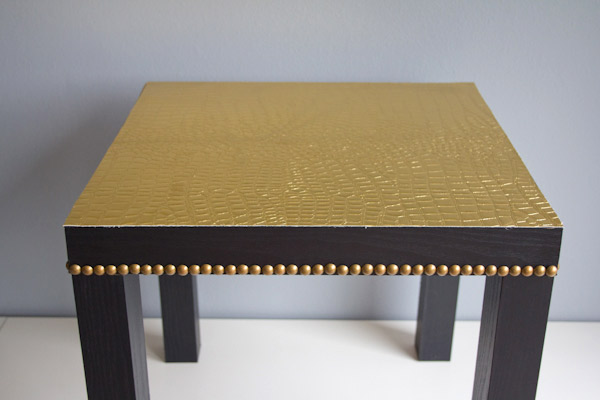Renovar una mesa auxiliar 4