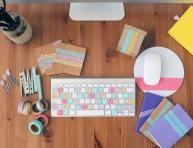 imagen 8 ideas para decorar tu espacio de trabajo con cinta washi