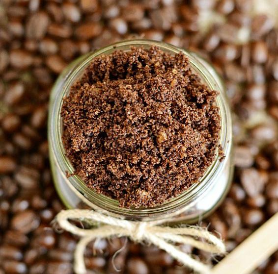 Exfoliante casero de café 1