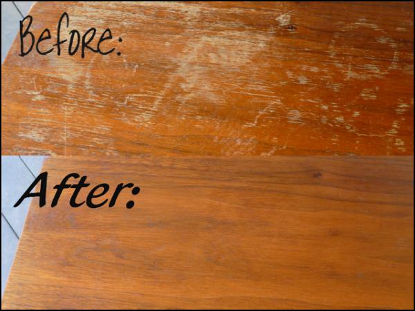 Producto para restaurar muebles de madera 4