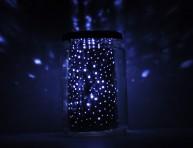 imagen Cómo hacer una lámpara estelar en un tarro de conserva