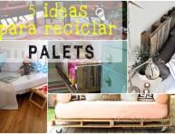 imagen 5 ideas para reciclar palets