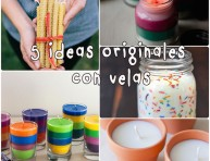 imagen 5 ideas para hacer velas originales