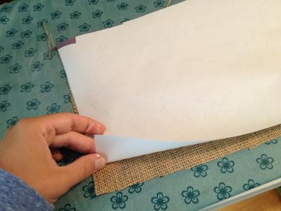 imprimir sobre tela arpillera