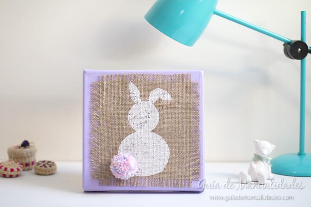 Cuadro DIY conejo 1