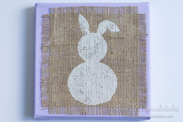 Cuadro DIY conejo 12