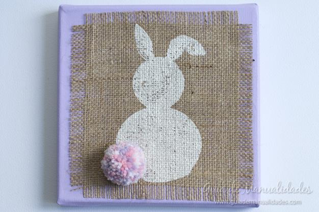 Cuadro DIY conejo 13