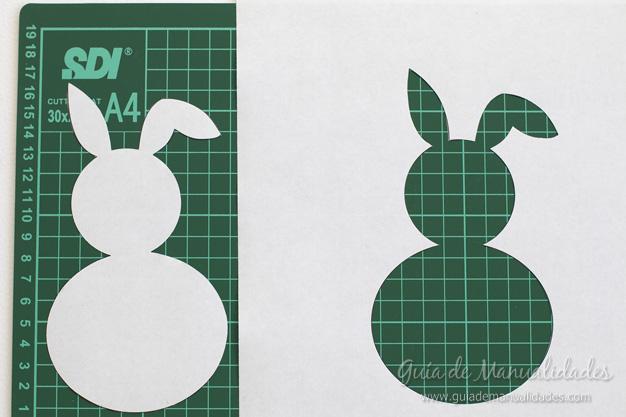 Cuadro DIY conejo 3