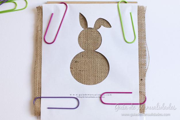 Cuadro DIY conejo 4