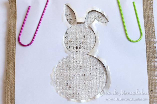 Cuadro DIY conejo 6