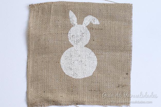 Cuadro DIY conejo 9