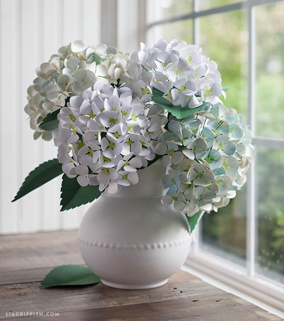 5 ideas para hacer tus propias flores de papel gu a de - Como cuidar una hortensia de exterior ...