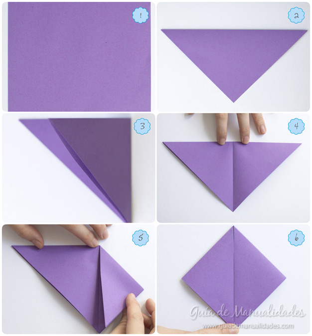 Como Hacer Un Lirio De Agua De Origami Guia De Manualidades
