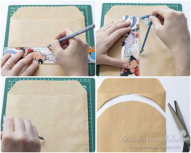 Una bonita idea para transformar simples sobres en 5 - Ideas en 5 minutos limpieza ...