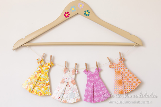 Vestidos de origami paso a paso gu a de manualidades - Origami para todos ...