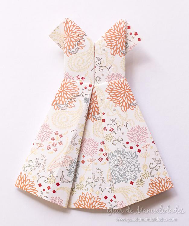 Vestidos de origami 8