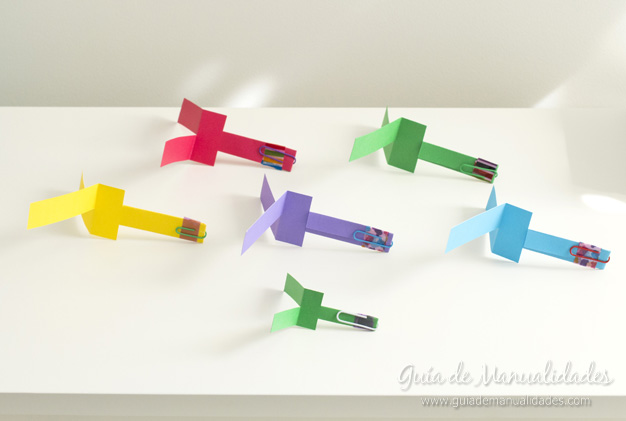 Helicópteros de papel 1