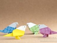 imagen Cómo hacer un pajarito de origami